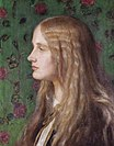 Edith Villiers by George Frederic Watts