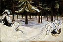 Edvard Munch - Winter in the Woods, Nordstrand (1899).jpg
