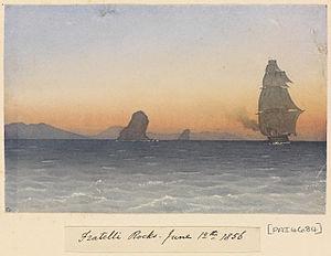 Edward Gennys Fanshawe, Fratelli Rocks, June 12th 1856 (Tunisia).jpg