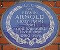 Edwin Arnold 31 Bolton Gardens blue plaque.jpg