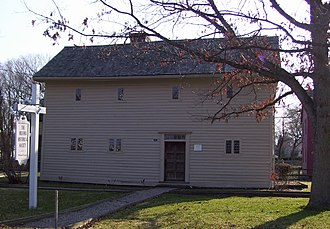 Milford, Connecticut - The Eells-Stow House, circa 1700, is believed to be the oldest extant house in Milford