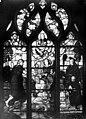 Eglise Saint-Martin - Vitrail, baie 13 (ensemble), Baptême du Christ. Odet de Coligny, cardinal de Chatillon, fils de Louise de Montmorency et son saint patron ... - Médiathèque de l'architecture et du patrimoine - APMH00005452.jpg