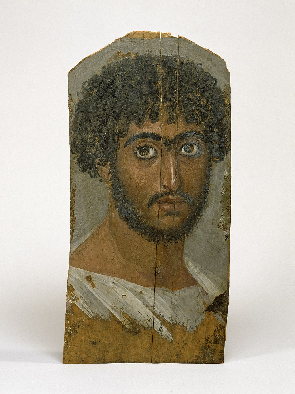 Egyptian - Mummy Portrait of a Bearded Man - Walters Art Museum
