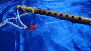 Aerophone - Image: Eight Flute 1