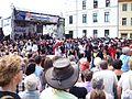Eilenburg 1050-Jahrfeier Pub-Buehne Line-Dance7.jpg