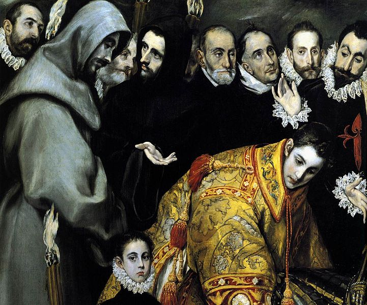 File:El Greco - The Burial of the Count of Orgaz (detail) - WGA10491.jpg