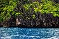 El nido limestone cliffs.jpg