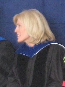Photo of Elaine S. Dalton at BYU Commencement (2008)