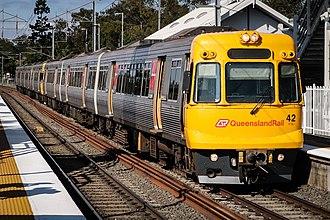 Electric multiple unit (Queensland Rail) - EMU42 at Wacol