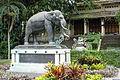 Elephant statue - Saigon Zoo and Botanical Gardens - Ho Chi Minh City, Vietnam - DSC01171.JPG