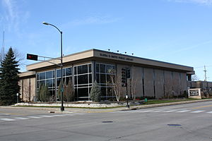 Menasha, Wisconsin - Elisha D. Smith Public Library in Menasha