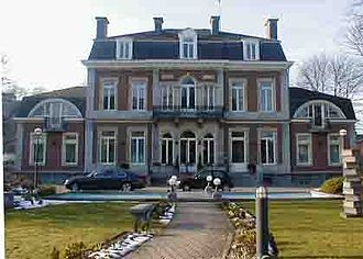 Politics of Wallonia - L'Élysette: seat of the Government of Wallonia, in Namur