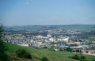 Elland market town in Calderdale, in the county of West Yorkshire, England
