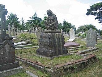 Ellen Cuffe, Countess of Desart - Image: Ellen Cuffe Grave 2