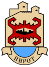 Coat of arms of Pirot