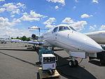 Embraer Legacy 650 Exterior Nose.JPG