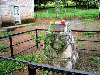 El Mozote massacre - The site of the old church.