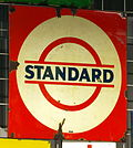 Enamel advertising sign, Standard.JPG