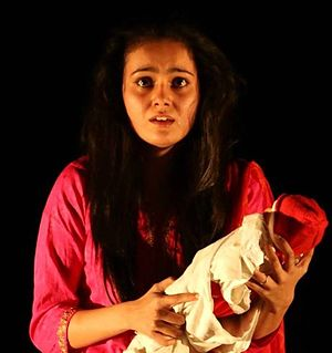 The final monologue by Leela Benare played by Abhivyakti Dixit