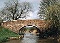 England's Bridge - No.126 - KandA Canal Stanton St.Bernard - geograph.org.uk - 470210.jpg