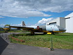 English Electric Canberra TT.18 WJ639, NELSAM, 27 June 2015 (1).JPG