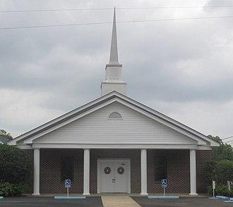 Epps, Louisiana - Epps Baptist Church