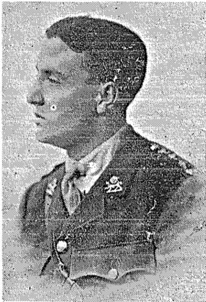 Eric Moxey - Eric Lawrence Moxey during WW1