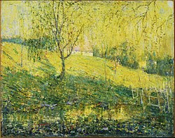 Ernest Lawson: Spring
