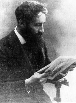 Ernest Nivet vers 1909