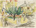 Ernst Ludwig Kirchner - Das Boskett auf dem Albertplatz in Dresden.jpg