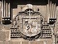 Escudo Arzobispado de Toledo - Imposicion de la casulla a San Ildefonso (Catedral de Toledo) (21865919828).jpg