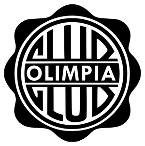 Español: Logo del Club Olimpia de Paraguay.