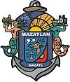 Coat of arms of Mazatlán Municipality