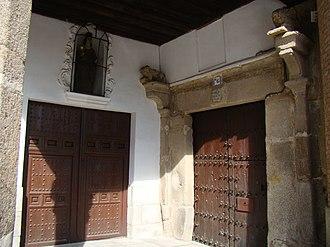 Convento de Santa Clara la Real, Toledo - Entrance