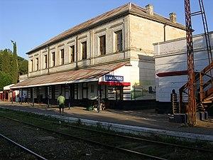 Baradero - Image: Estación de trenes Baradero 2