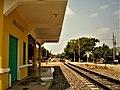 Estación ferroviaria de Aracataca, hoy destinada a tráfico de cargas..jpg