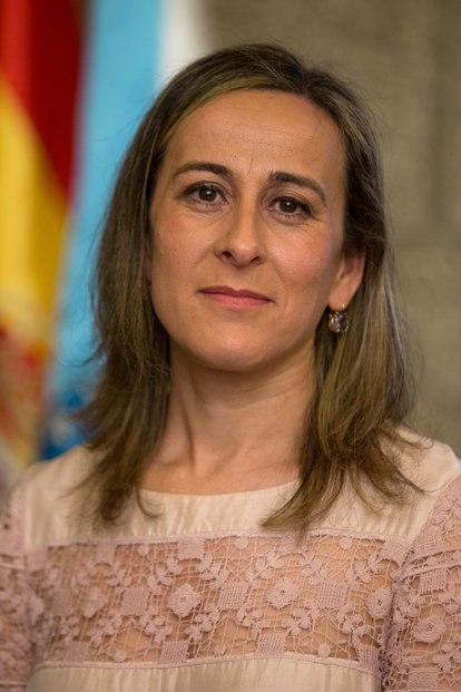 Ethel María Vázquez Mourelle, conselleira de Infraestruturas e Vivenda