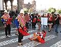Ethnic dances in Cusco (Peru) (37016185935).jpg