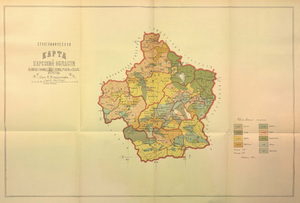 Kars Oblast - Ethnographic map of the Kars Oblast, 1902 (according to the census of 1886)