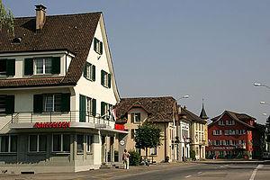 Ettiswil - Image: Ettiswil Zentrum