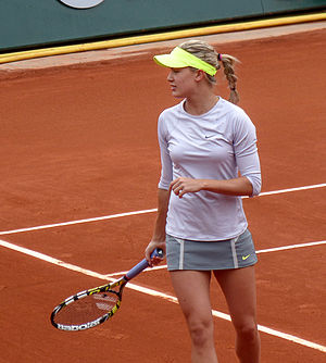 Eugenie Bouchard - Bouchard at the 2013 French Open