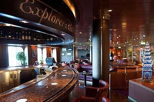 MS Eurodam - Image: Eurodam Explorer's bar