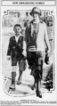 Eusebio Ayala wife and son newspaper photo (cropped).png
