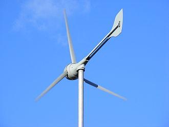 Small wind turbine - Evance R9000 5kW small domestic wind turbine with 5.5m rotor diameter