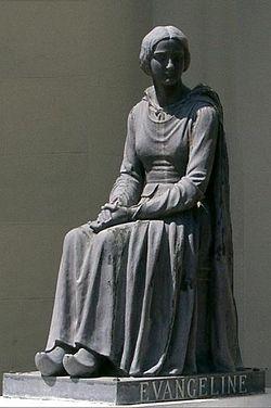 Evangeline statue St Martinville Louisiana closeup trim.jpg