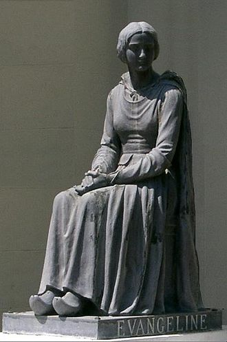 Evangeline - Monument to Acadians, St. Martinville, Louisiana