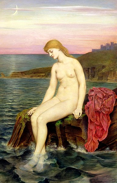 File:Evelyn de Morgan - The Little Sea Maid, 1880-1888.jpg