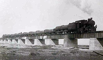 South West African 2-8-0 - Image: Ex DSWA 2 8 0 1932