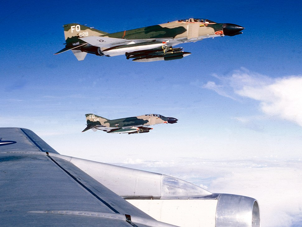 F-4Ds 435th TFS over Vietnam