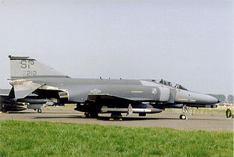 "81st Fighter Squadron - McDonnell Douglas F-4E/G-33-MC Phantom ""Wild Weasel"" Serial 69-0212 of the 81st Tactical Fighter Squadron"